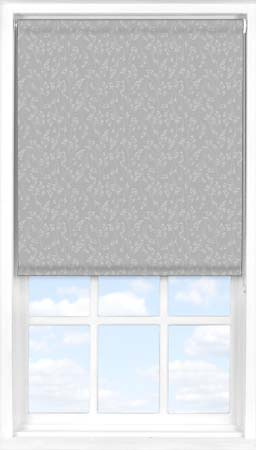 Motorised Roller Blind in Barley Fields Grey Blackout