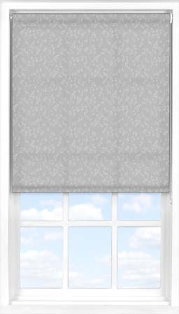 Motorised Roller Blind in Barley Fields Grey Translucent