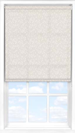Motorised Roller Blind in Barley Fields Natural Translucent