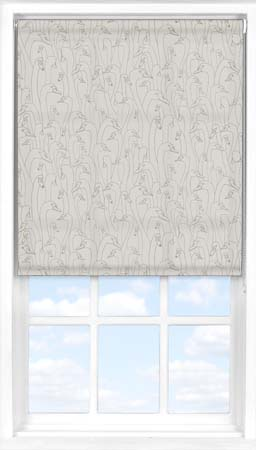 Motorised Roller Blind in Wild Geese Taupe Translucent