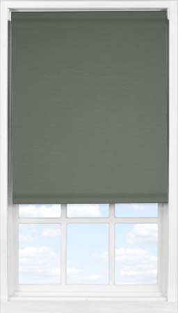 Easifit Roller Blind in Ash Blackout