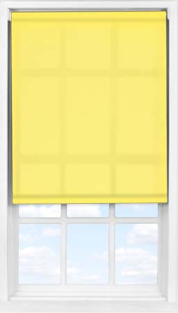Easifit Roller Blind in Buttercup Translucent
