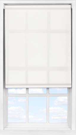 Easifit Roller Blind in Bleached Muslin Transparent