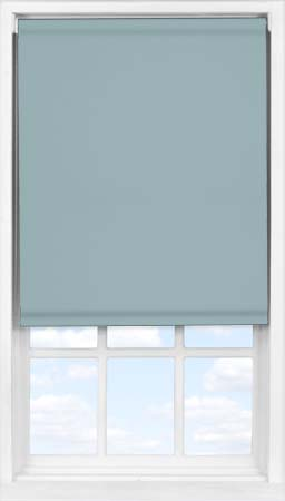 EasyFit Roller Blind in Blue Pebble Blackout