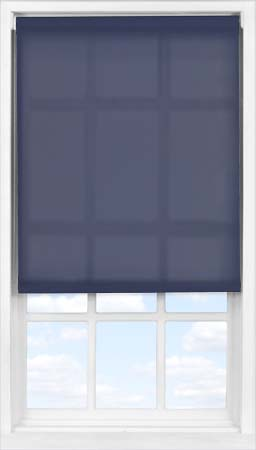 Easifit Roller Blind in Celestial Blue Translucent