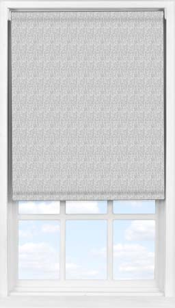 Easifit Roller Blind in Charcoal Grey Herringbone Translucent