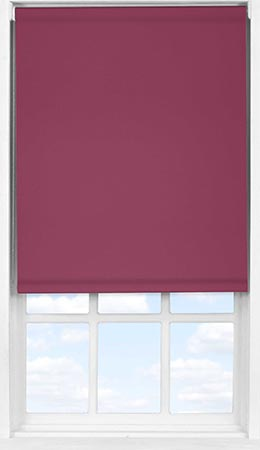 Easifit Roller Blind in Cherry Wine Blackout
