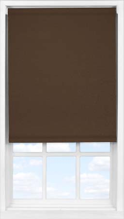 Easifit Roller Blind in Cocoa Bean Blackout