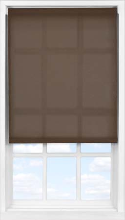 Easifit Roller Blind in Cocoa Bean Translucent