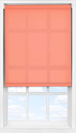 Easifit Roller Blind in Coral Sunset Translucent