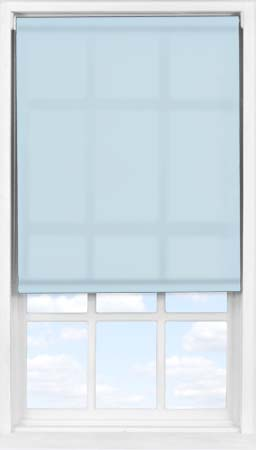 Easifit Roller Blind in Crystal Blue Translucent