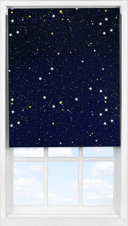 Easifit Roller Blind in Cosmos Blackout