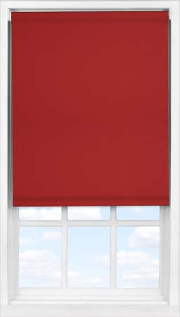 Easifit Roller Blind in Garnet Blackout