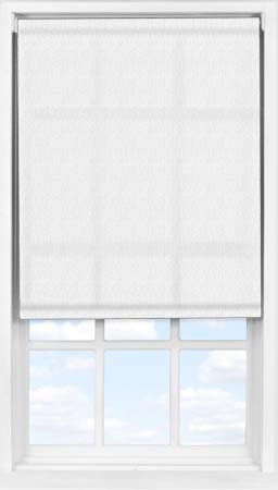 Easifit Roller Blind in Light Grey Herringbone Translucent