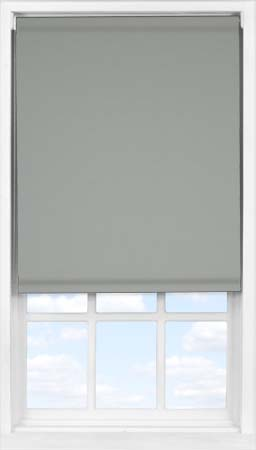EasyFit Roller Blind in Marl Grey Blackout