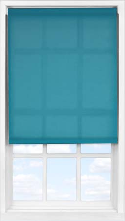 Easifit Roller Blind in Mariner's Teal Translucent