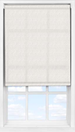 Easifit Roller Blind in Neutral Herringbone Translucent