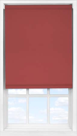Easifit Roller Blind in Plum Blackout