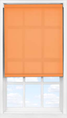 Easifit Roller Blind in Pumpkin Translucent