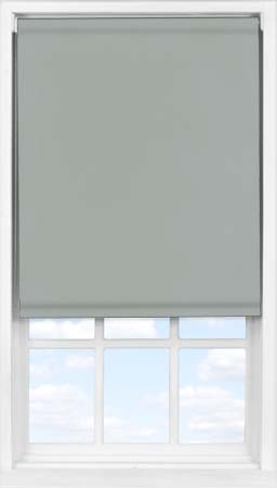 Easifit Roller Blind in PVC Charcoal