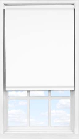 Easifit Roller Blind in PVC Frost White