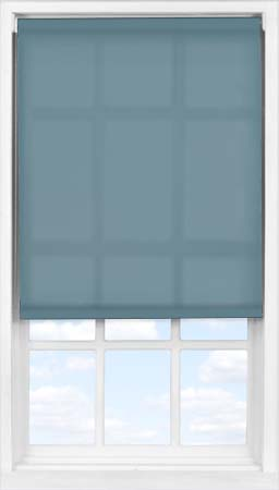 Easifit Roller Blind in Refined Blue Translucent