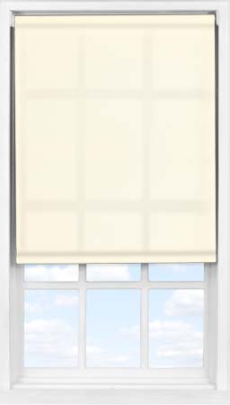 Easifit Roller Blind in Soft Cream Translucent