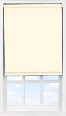 Easifit Roller Blind in Soft Cream Blackout
