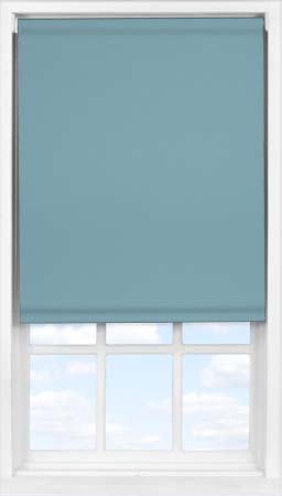 Easifit Roller Blind in Smooth Blue