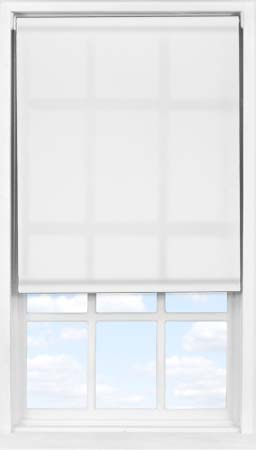 Easifit Roller Blind in Snow Furrow Transparent