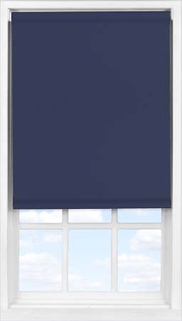 Easifit Roller Blind in True Navy Blackout