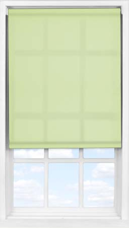 Easifit Roller Blind in Wasabi Green Translucent