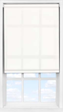 Easifit Roller Blind in Blossom White Translucent
