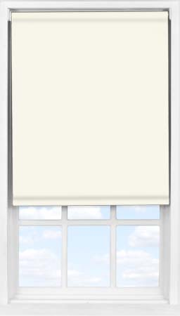 Easifit Roller Blind in Blossom White Blackout