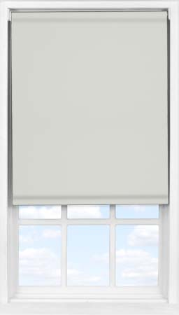 Easifit Roller Blind in Light Grey Blackout