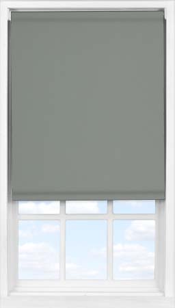 Easifit Roller Blind in Smouldering Charcoal Blackout