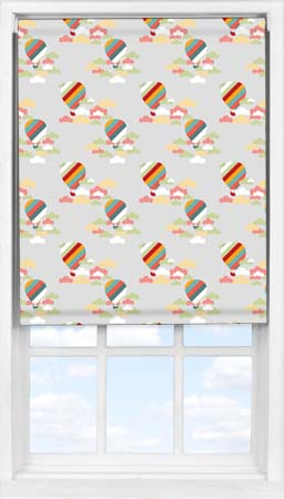 Easifit Roller Blind in Hot Air Balloon Ride Blackout