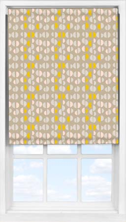 Easifit Roller Blind in Neutral Nursery Blackout