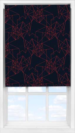 Easifit Roller Blind in Prism Burnt Orange Blackout