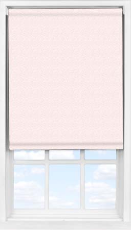 Easifit Roller Blind in Scattered Spots Pink Blackout