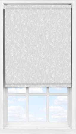 Easifit Roller Blind in Wild Geese Light Grey Blackout