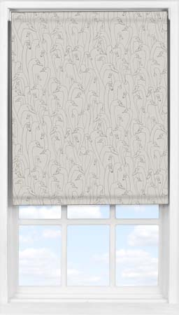 Easifit Roller Blind in Wild Geese Taupe Blackout