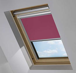 Solar Skylight in Cherry Wine Blackout