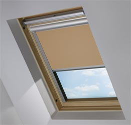 Solar Skylight in Coconut Husk Blackout