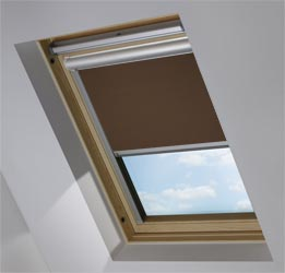 Solar Skylight in Cocoa Bean Blackout