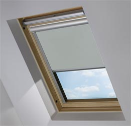 Solar Skylight in PVC Charcoal