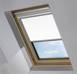 Solar Skylight in PVC Frost White