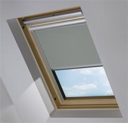 Solar Skylight in Sooty Grey Blackout