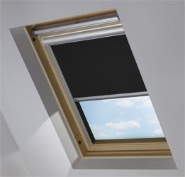 Solar Skylight in True Black Blackout