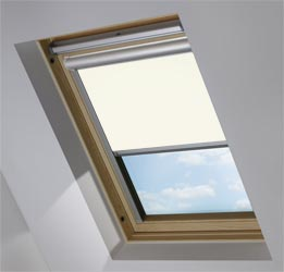 Solar Skylight in True White Blackout
